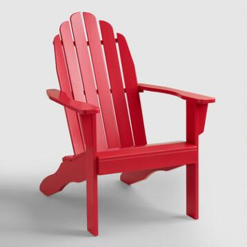 Barbados Cherry Adirondack Chair